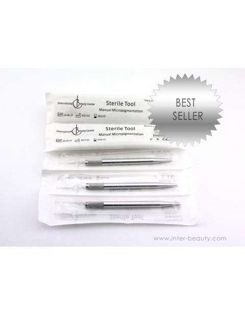 Sterilus Įrankis Manualinei Micropigmentacijai (10 vnt.)